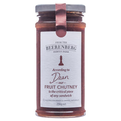 Beerenberg Chutney Fruit 290g , Grocery-Cooking - HFM, Harris Farm Markets  - 1