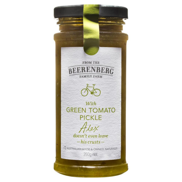 Beerenberg Green Tomato Pickle 260g , Grocery-Condiments - HFM, Harris Farm Markets  - 1