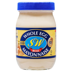 S&W Egg Mayo Original 440g , Grocery-Cooking - HFM, Harris Farm Markets  - 1