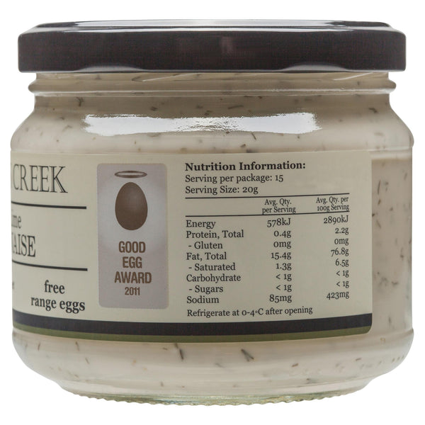 Doodles Mayonnaise Dill And Lime 300g , Grocery-Oils - HFM, Harris Farm Markets  - 2