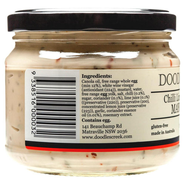 Doodles Mayonnaise Chilli 300g , Grocery-Oils - HFM, Harris Farm Markets  - 3