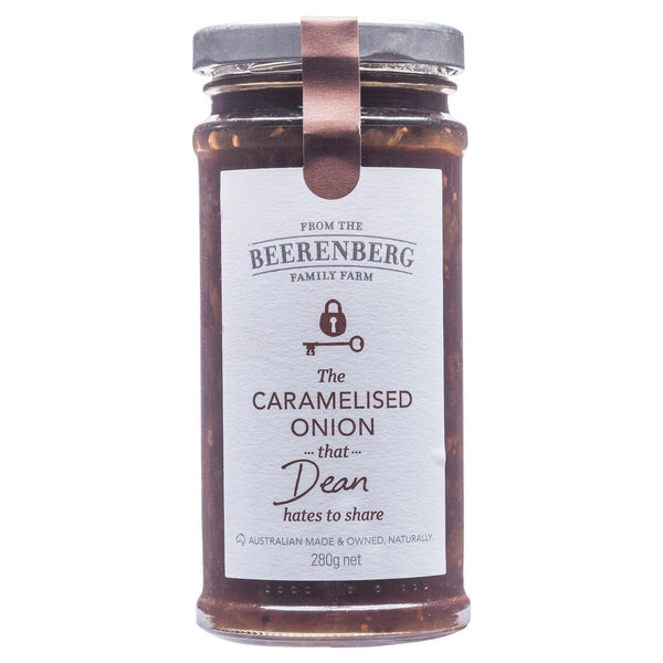 Beerenberg Caramelised Onion 280g , Grocery-Oils - HFM, Harris Farm Markets  - 1