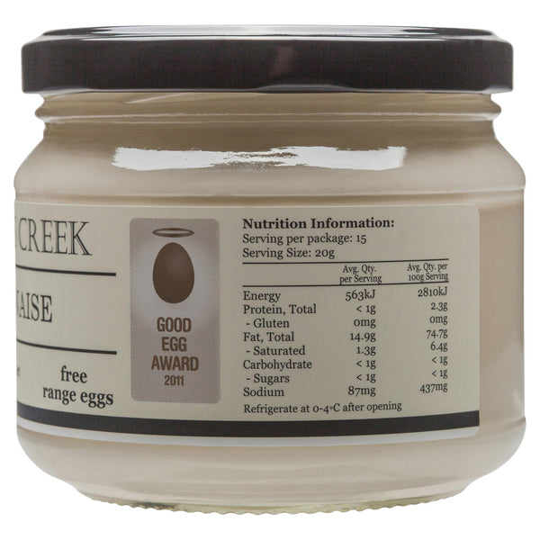 Doodles Mayonnaise 300g , Grocery-Condiments - HFM, Harris Farm Markets  - 2