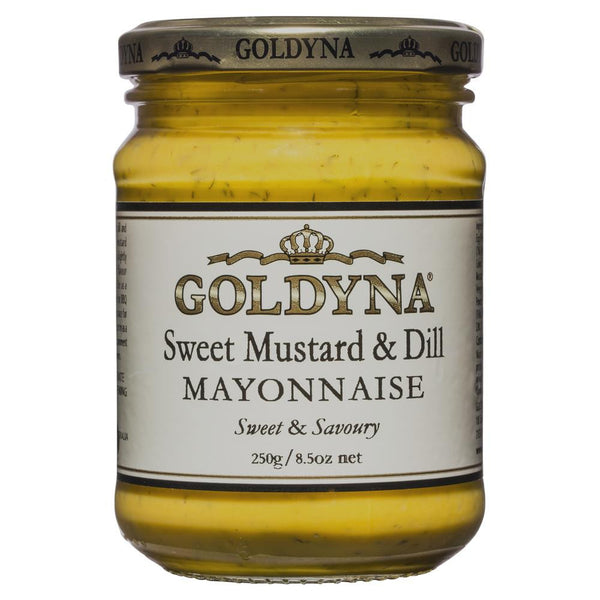 Goldyna Sweet Mustard 250g , Grocery-Cooking - HFM, Harris Farm Markets  - 1