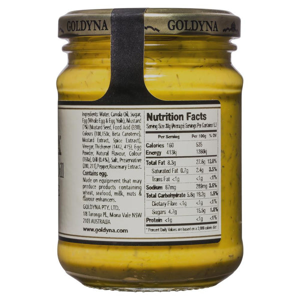 Goldyna Sweet Mustard 250g , Grocery-Cooking - HFM, Harris Farm Markets  - 2
