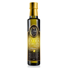 Blu Estate - Extra Virgin Olive Oil - Lemon Infused (250mL)