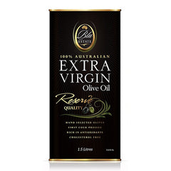 Blu Estate - Extra Virgin Olive Oil -  Reserve Quality (1.5L Tin)