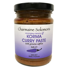 Charmaine Solomons - Curry Paste - Korma - Mild (250g)