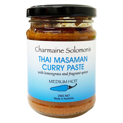 Charmaine Solomons - Curry Paste - Thai Masaman - Medium Hot (250g)