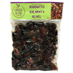 The Greek Olive Marinated Olives Kalamata 375g