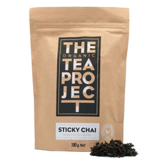 The Organic Tea Project - Sticky Chai - Masala Honey Blend (150g)