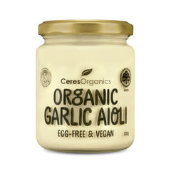 Ceres Organics - Garlic Aioli Organic - Egg Free and Vegan (235g)