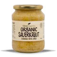 Ceres Organics - Sauerkraut Organic - Cabbage with Zing (680g)