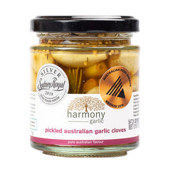 Harmony Garlic - Pickled Australian Garlic Cloves (175g)