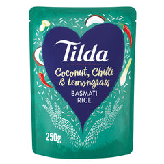 Tilda Basmati Rice Coconut, Chilli and Lemongrass | Harris Farm Online