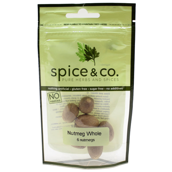 Spice and Co Nutmeg Whole x6