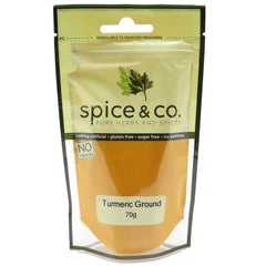 Spice & Co - Turmeric Ground (70g)
