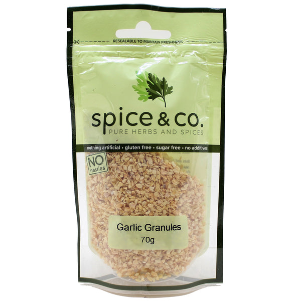 Spice and Co Garlic Granules 70g