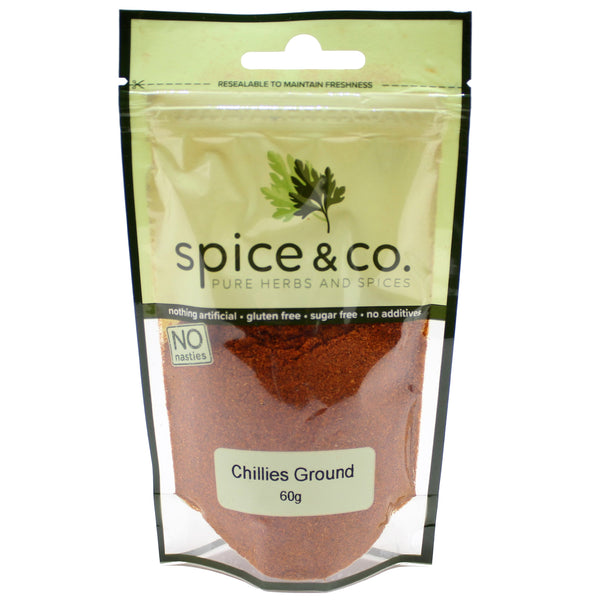 Spice & Co - Chillies Ground (60g)