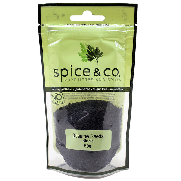 Spice & Co - Sesame Seeds Black (60g)