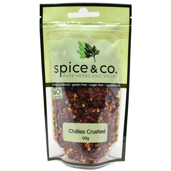 Spice & Co - Chillies Crushed (60g)