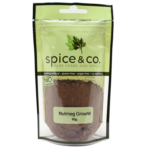 Spice and Co Nutmeg Ground 40g