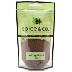 Spice & Co - Nutmeg Ground (40g)