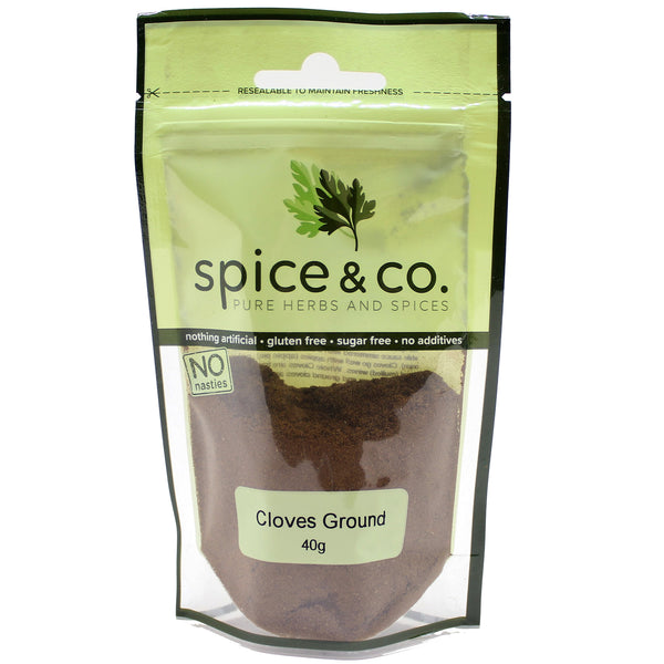 Spice & Co - Cloves Ground (40g)