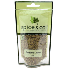 Spice and Co Oregano Leaves 20g