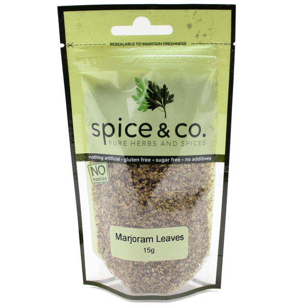Spice & Co - Marjoram Leaves (15g)