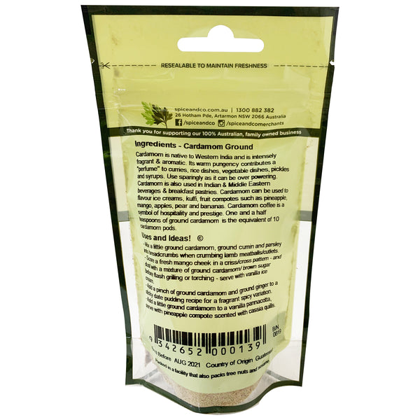 Spice & Co - Cardamom Ground (15g)