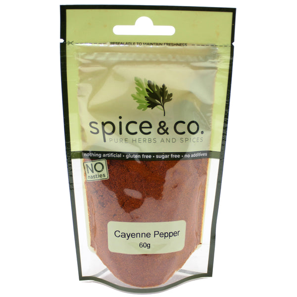Spice & Co (60g) Cayenne Pepper