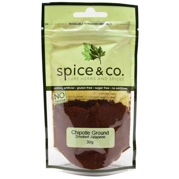 Spice & Co - Chipotle Ground - Smoked Jalapeno (30g)