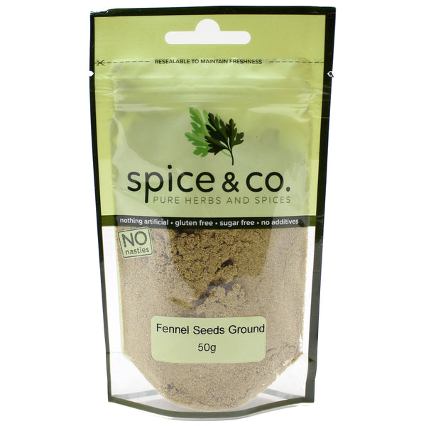 Spice & Co (50g) Fennel Seeds Ground