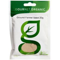 Gourmet Organic Herbs Fennel Seed Ground | Harris Farm Online