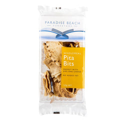 Paradise Beach Purveyors Wholemeal Pita Bits 120g , Grocery-Biscuits - HFM, Harris Farm Markets  - 1