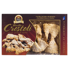 Crostoli King Vanilla Crostoli 150g , Grocery-Biscuits - HFM, Harris Farm Markets  - 1
