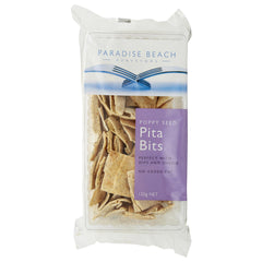 Paradise Pita Poppy Seed 120G , Grocery-Biscuits - HFM, Harris Farm Markets  - 1