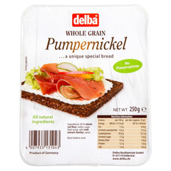 Delba Whole Grain Pumpernickel 250g , Z-Bakery - HFM, Harris Farm Markets  - 1