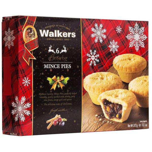 Walkers - Fruit Mince Pies (6 pies, 372g)