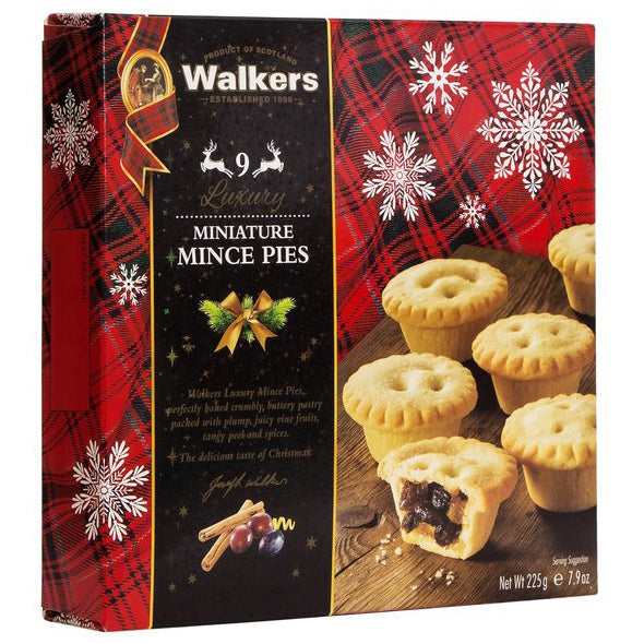 Walkers - Miniature Mince Pies (9pieces, 225g)