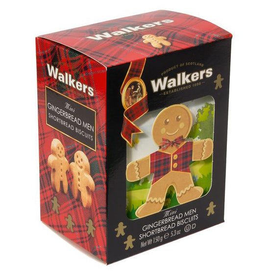 Walkers - Biscuits Mini Gingerbread Men (24 pieces, 150g)
