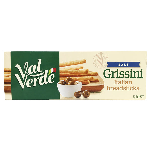 Val Verde - Biscuits Grissini - Salt (125g)