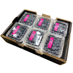 Blueberries (Tray Sale, Tray of 12 Punnets)