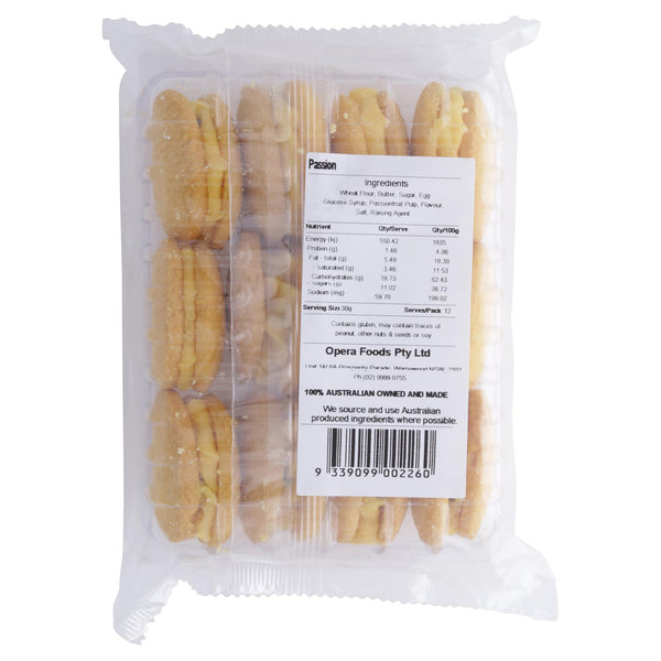 Bush Cookies Passionfruit 350g , Grocery-Biscuits - HFM, Harris Farm Markets  - 2