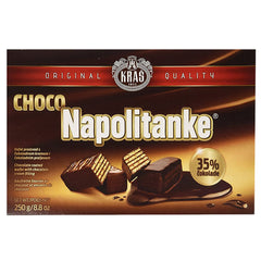 Kras Chocolate Coated Wafer Choco Napolitanke | Harris Farm Online