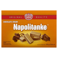 Kras Napolitanke Chocolate Cream Wafer 330g , Grocery-Biscuits - HFM, Harris Farm Markets  - 1