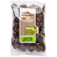 The Market Grocer - Dates Pitted Organic (400g)