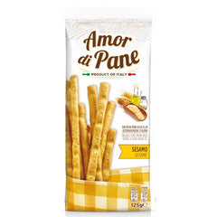 Amor Di Pane - Biscuits Breadsticks - Sesame | Harris Farm Online