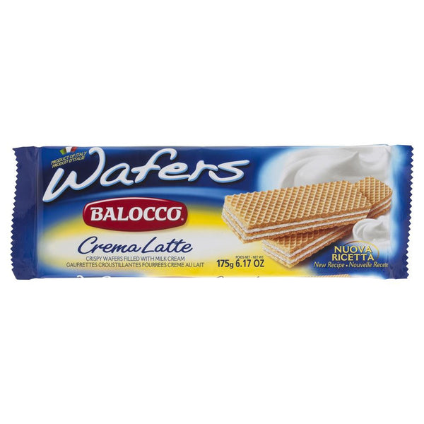 Balocco Wafers Crema Latte 175g , Grocery-Biscuits - HFM, Harris Farm Markets  - 1